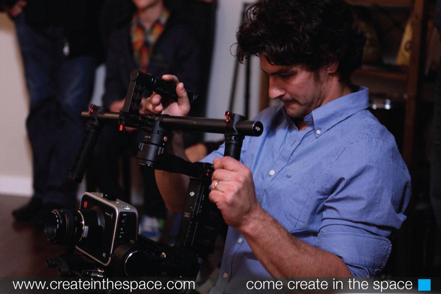Matt Kooman  using the Ronin